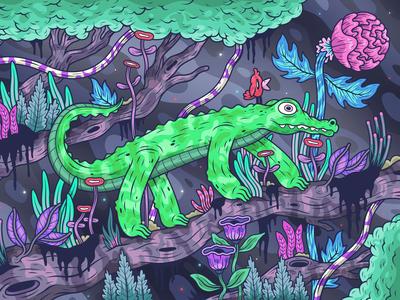 Jungle Croc