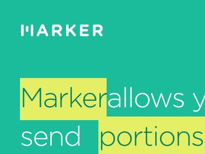 Marker App app mark