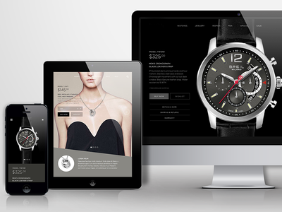 Watch Store Concept shop store concept watch ecommerce