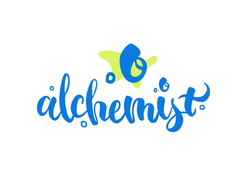 Logo Design alchemist logodesign graphicdesign calligraphy logo lettering logotype branding
