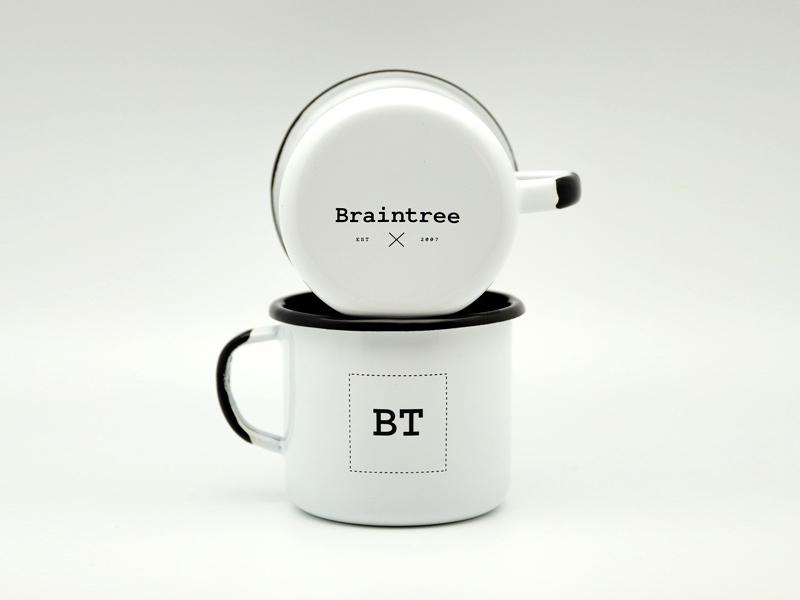 Braintree Enamel Mug custom mug enamel braintree camping style
