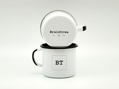 Braintree Enamel Mug