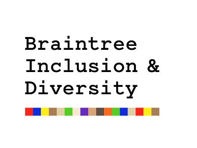 Braintree Inclusion & Diversity Logo accept everyone braintree pride diversity inclusion