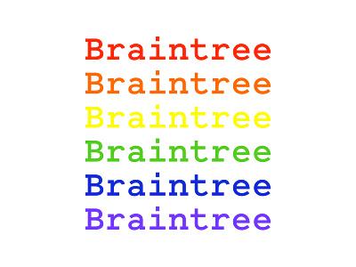 Braintree Pride rainbow pride