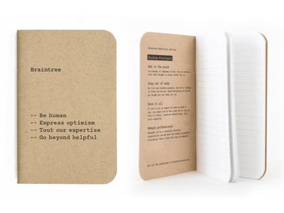 Braintree brand guidelines notebook