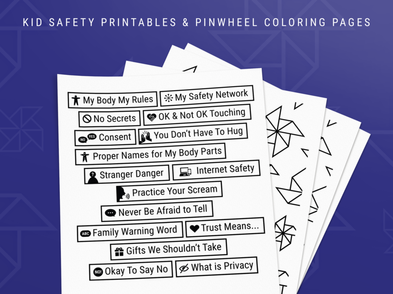 Child Abuse Prevention Printables safety network internet safety conversation starter designed out of love child abuse awareness build trust activity kids child abuse prevention body safety