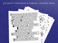 Child Abuse Prevention Printables