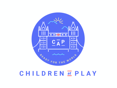 "CAP / Children At Play ""Detailed"" Daycare Logo"