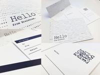 Letterpress cards and envelopes