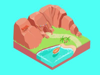 island tile