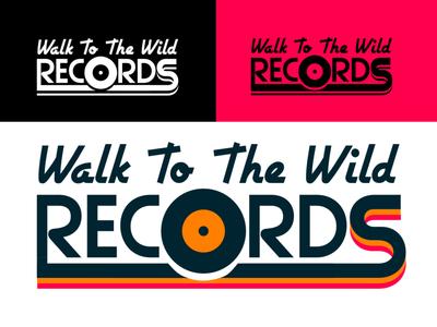 record shop logo music record vinyl logodesign logo affinity design vector branding illustration
