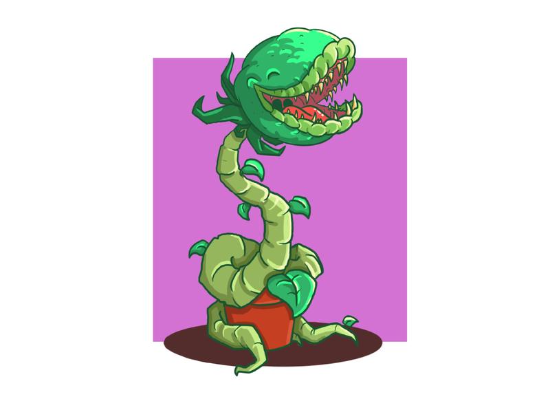 feed me procreate app cute illustration character cartoon