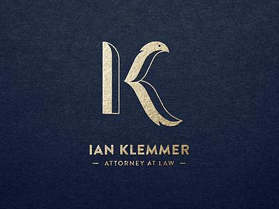 IK monogram logo monogram initials logo design