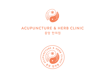 Acupuncture & Herb Clinic No. 2 logo logo mark