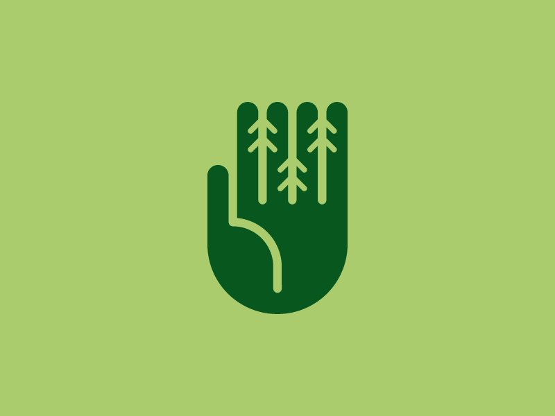 Tree Care 2 symbol logo