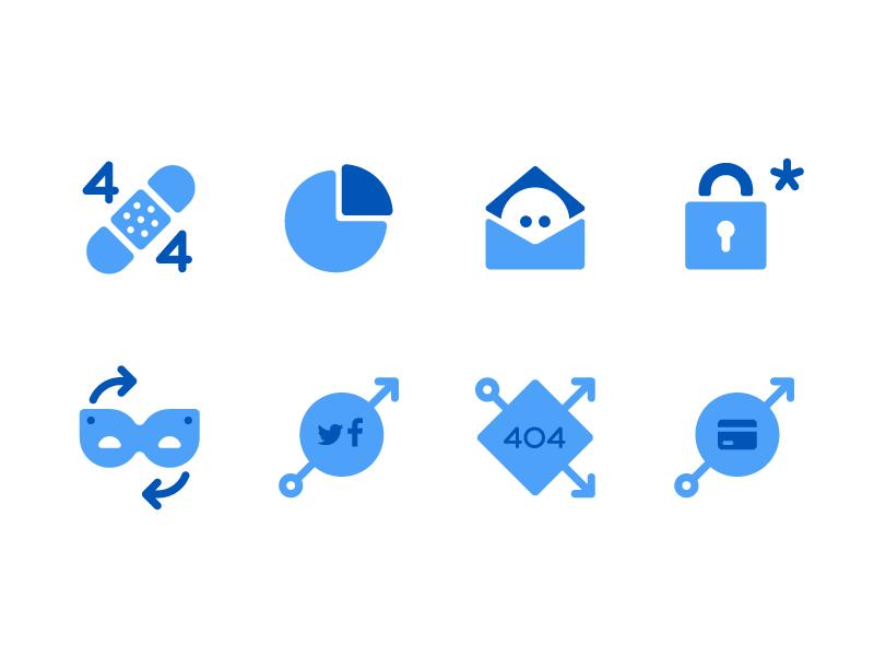 Capsulink Icon Set icon minimal simple link flat set iconography icons