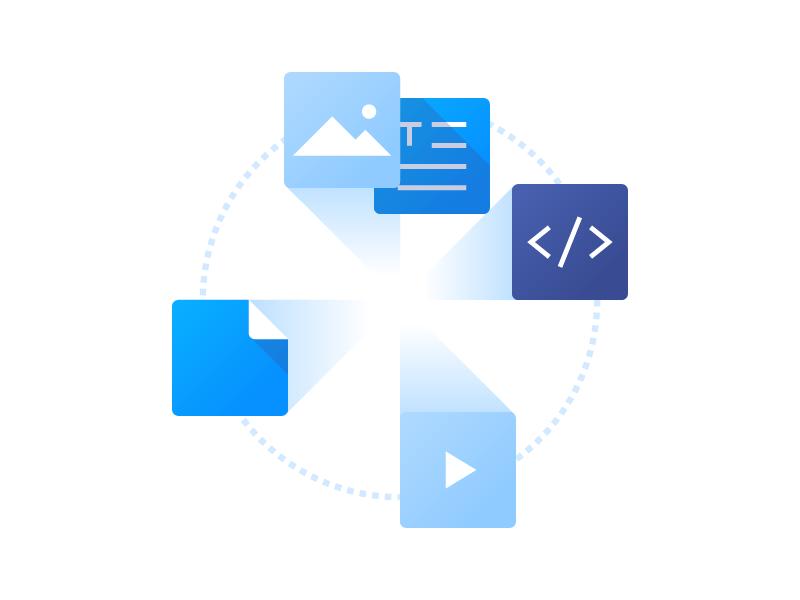 Upload Files icons video file file code text file illustration vector image resume tidl