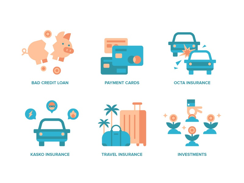 Comparo Illustrations III investments insurance loan illustration spot illustration