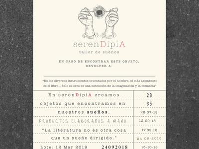 serenDipiA label design
