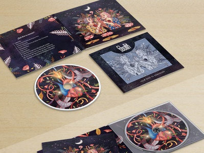 Design and art for Soultik's album
