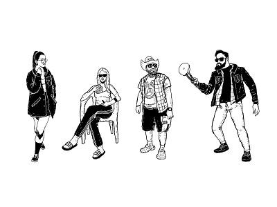 Cambie Cartel form line black and white white black design digitalart procreate illustrator illustration art illustration design illustrations illustration