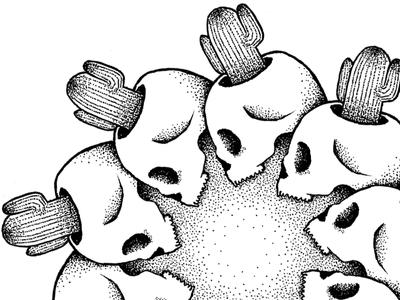 Skull cactus