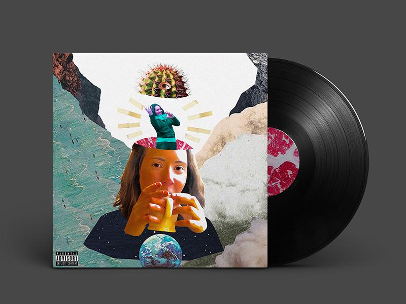 Something Funny (Album Art) record vinyl canada vancouver music album