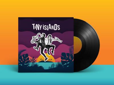 Tiny Islands Album art + Logo