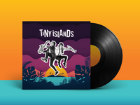 Tiny Islands Album art + Logo