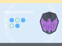 Graviton Forfeit hiko shadestep hunter inventory exotic destiny forfeit graviton helmet