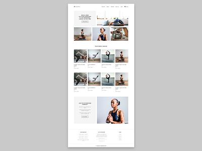 瑜伽网站 1 web ui