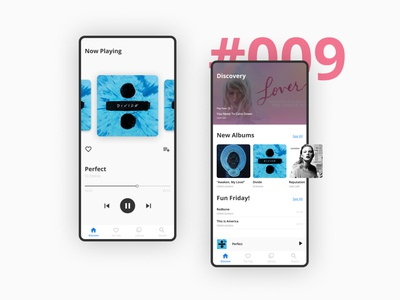 Daily UI - 009 | Music Player