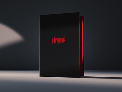 Inframunk outer box graphic design design photofolio package design branding