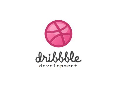 Dribbble development logo