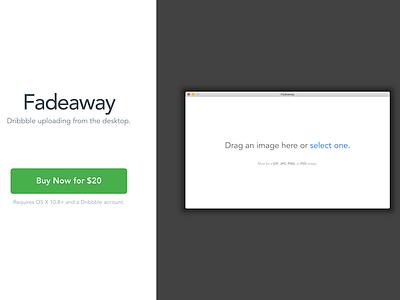 Landing Page work-in-progress landing page dribbble development buy api