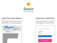 Sketch Landing Page