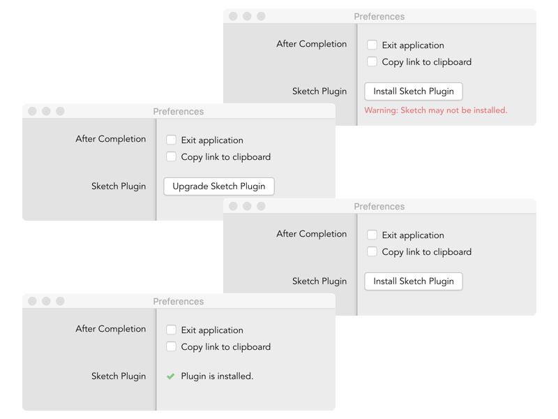 Bundled Sketch Plugin sketch preferences plugin fadeaway dribbble application api