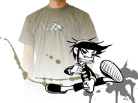 Illustration for a t-shirt