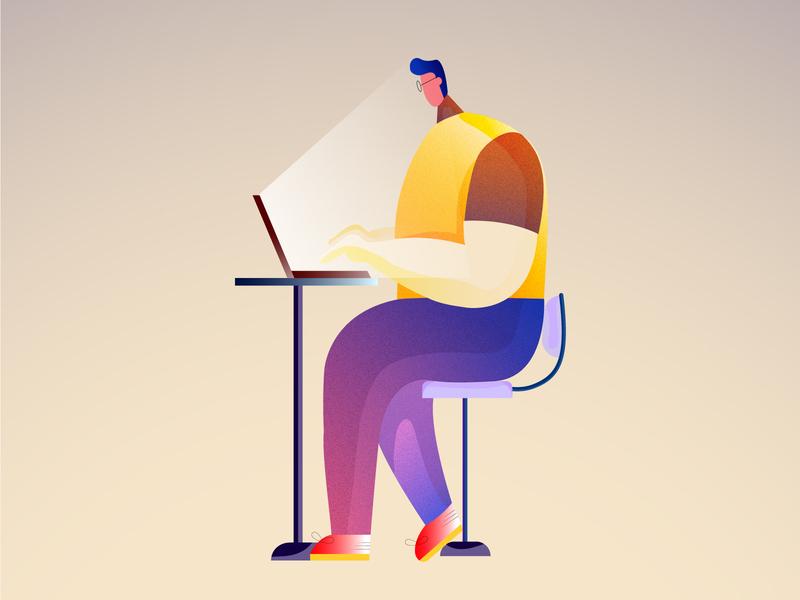 Character Design colour collective image concept art vector design illustration