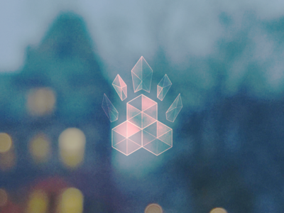 throwback lcd glass hud logo hackathon hack@brown hack at brown