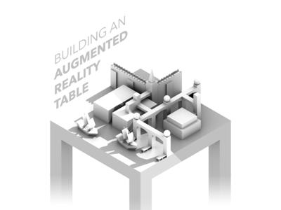 Augmented Reality Table Header port castle model ao ar table 3d