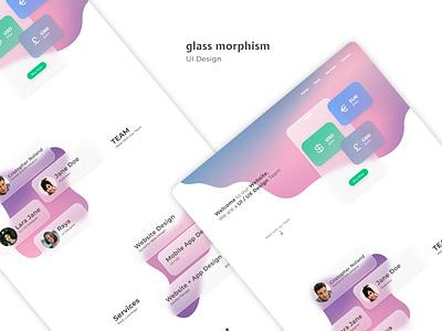 Glassmorphism | UI figma morphism glass glassmorphism design web ui