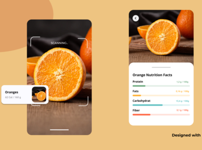 Scanning Fruit Nutrition With AI