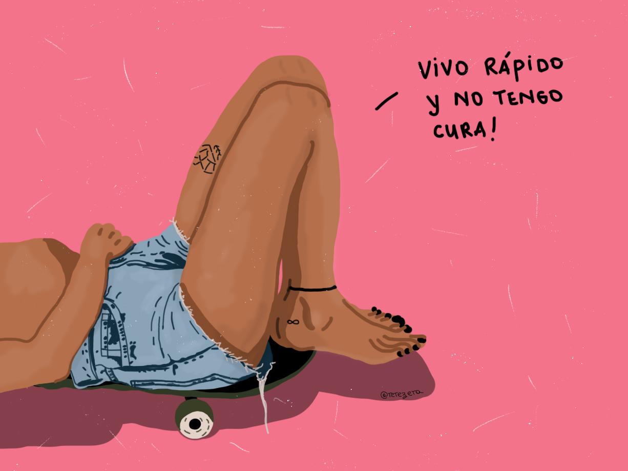 Con Altura music songs rosalía skateboards skates skatergirl skate grlpwr girl drawing draw dibujo ilustration ilustradora ilustraciones ilustración ilustracion ilustracao design illustration