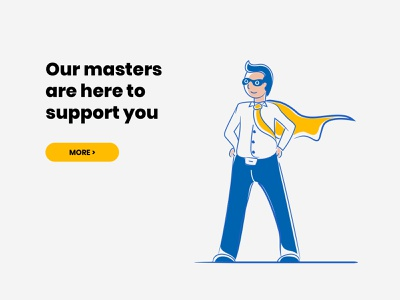 Product support support team help support page masters support web illustration corporate vector adobe illustrator website ux ui character business illustration