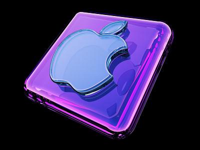 Apple Icon c4d icons 3d apple design apple
