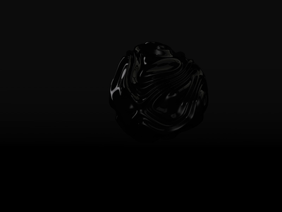 Organic Darkness space motion animation design greenhouse c4d cinema4d 3d minimal