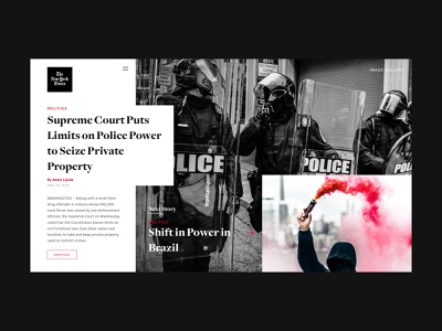 New York Times new york nyt brand typogaphy minimal web app design ui news editorial