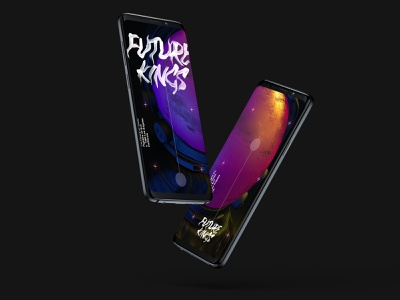 Future Kings ~ Astro Series Part II. space concept app 3d typography android illustration web design minimal ux app ios greenhouse ui