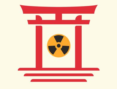 Hiroshima & Nagashaki day japan itsukushima nuclear bomb hiroshima day minimal illustration